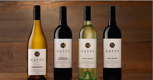 Hayes Wine Bottles
