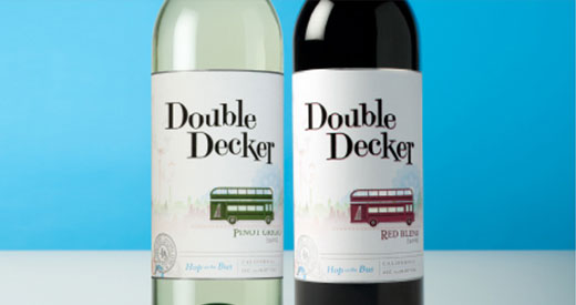 Double Decker Wine Bottles