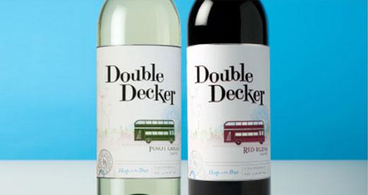 Double Decker Wine Bottles