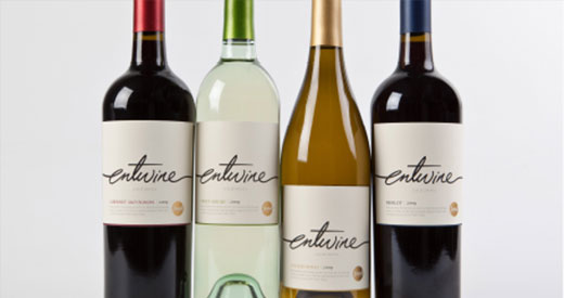 Entwine's Wine Bottles